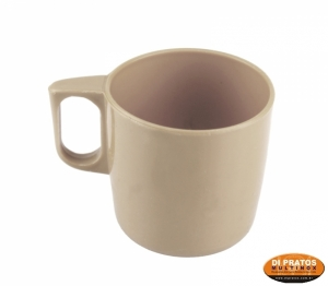 CANECA 350ML BEGE PP