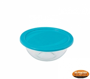 TIGELA 15,5X6CM 500ML C/TPA PLAST A