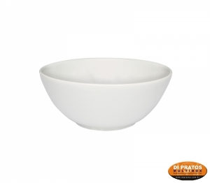 TIGELA  600ML 14,5CM BRANCA BOWL