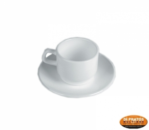 XICARA CAFE 80ML BLANC REST S/PIRES
